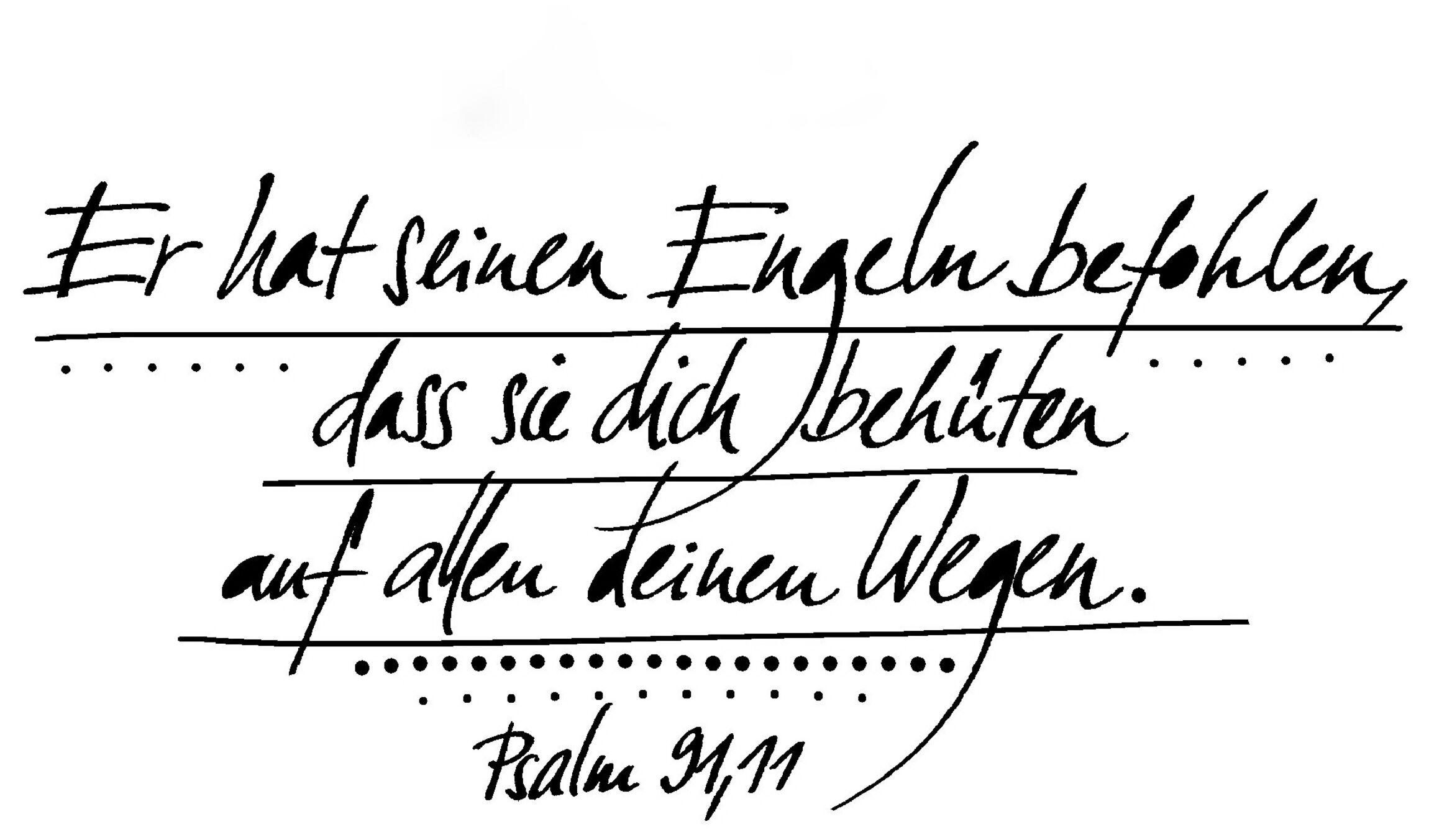 Taufspruch Psalm 91